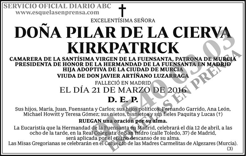 Pilar de la Cierva Kirkpatrick